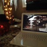 My Halloween mix in the spook room!