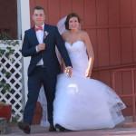 The new Mr. & Mrs. enter!