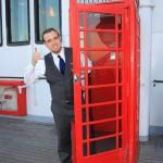 Classic phone booth fun!