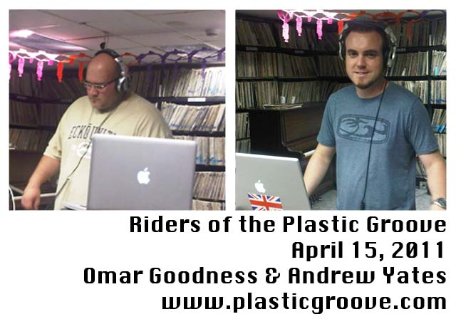 KUCI 88.9 Riders Of The Plastic Groove Andrew Yates Omar Goodness Dennis Simms